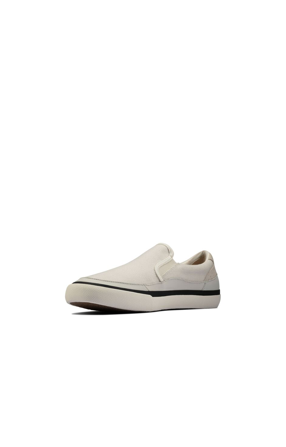 Aceley Step Sneaker - White Canvas