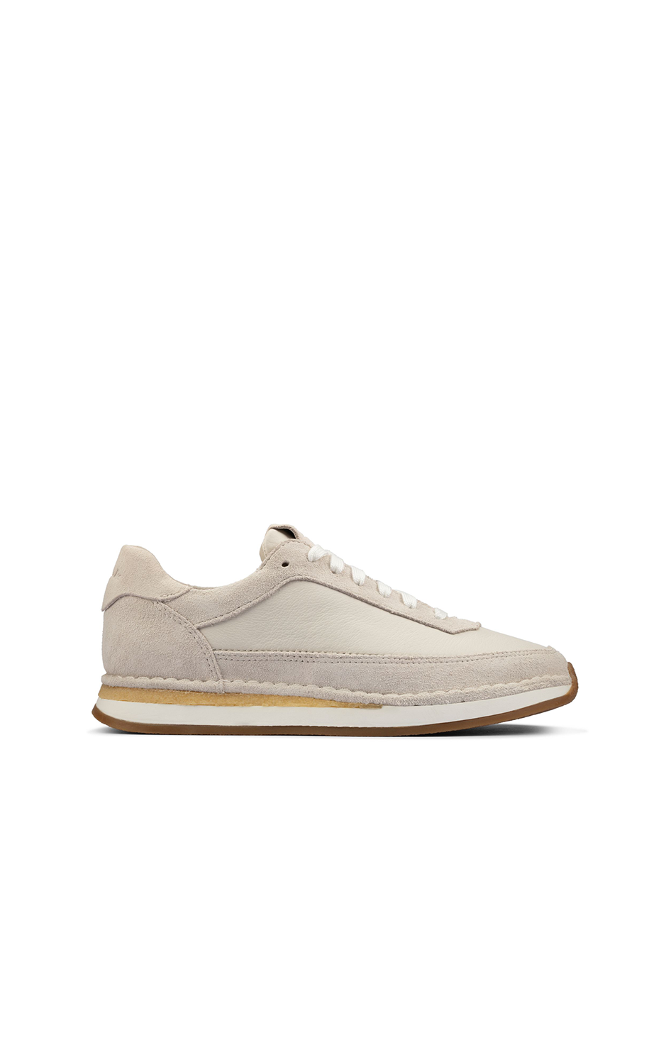 Craft Run - Lace White Suede