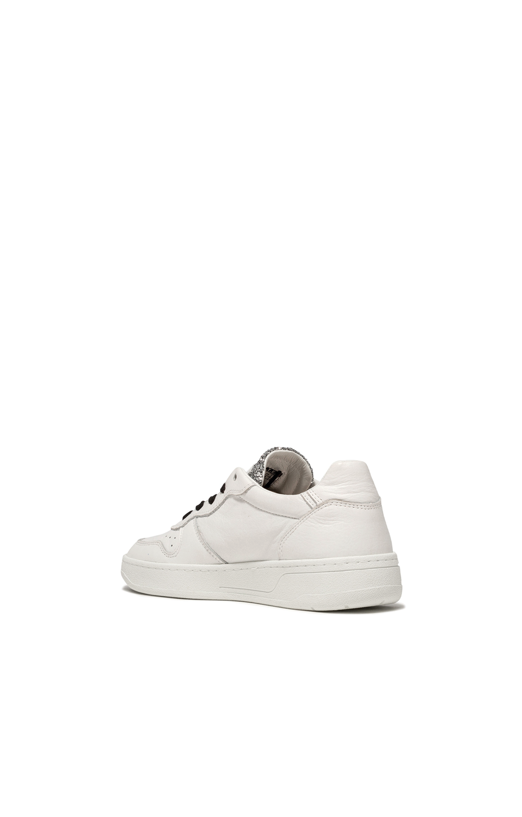 Court Pop Sneaker - Glitter White