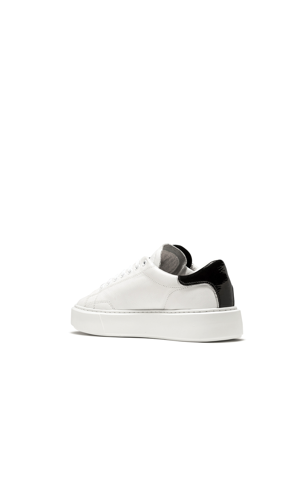 Sfera Calf Sneaker - White/Black