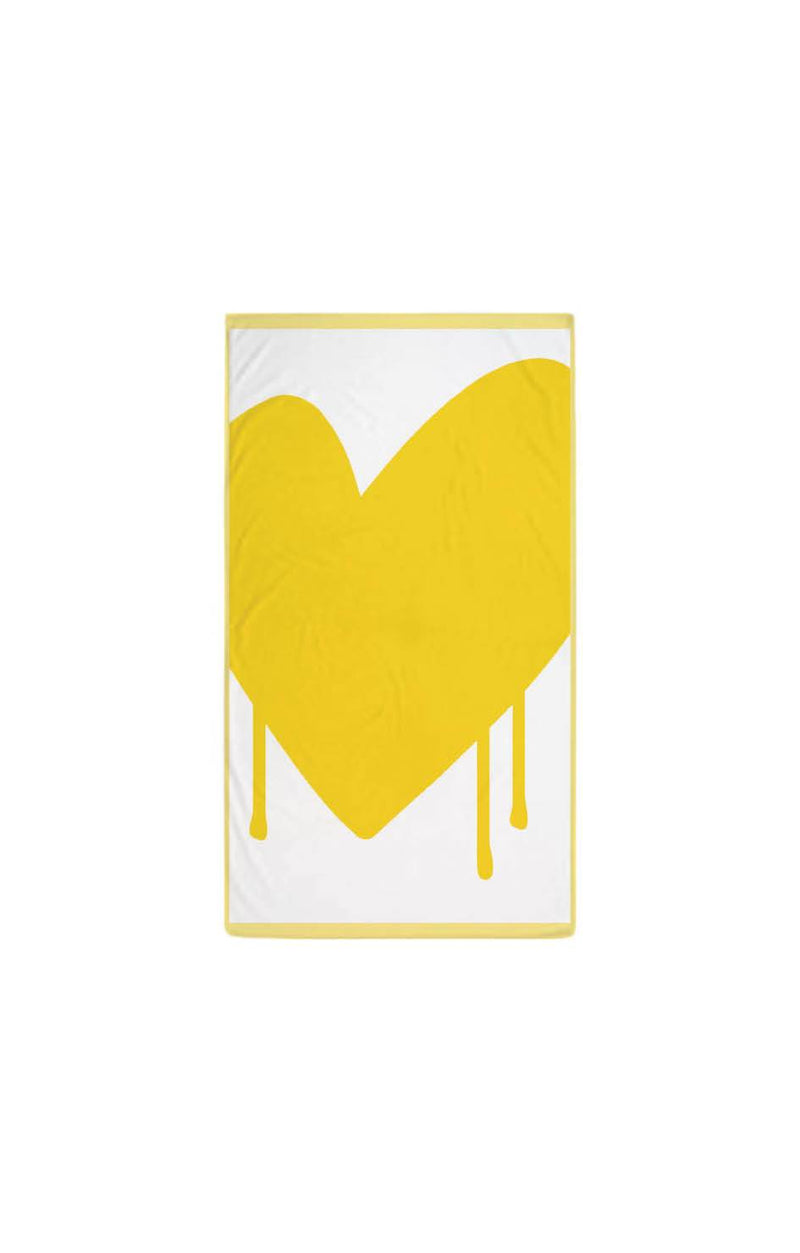 Drippy Heart Towel