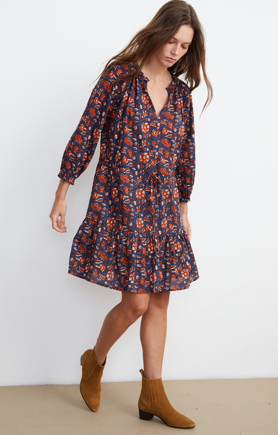 Shoshana Print Dress