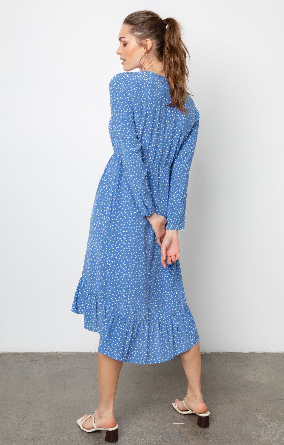 Jade Dress Blue Wisteria - Rails Clothing