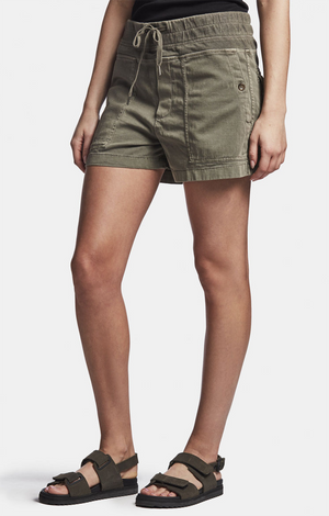 Cotton Slub Military Short