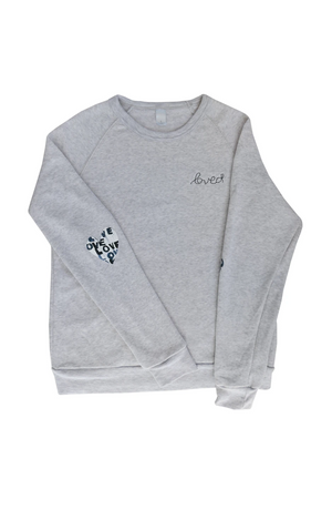 Patch Love Letter Sweater