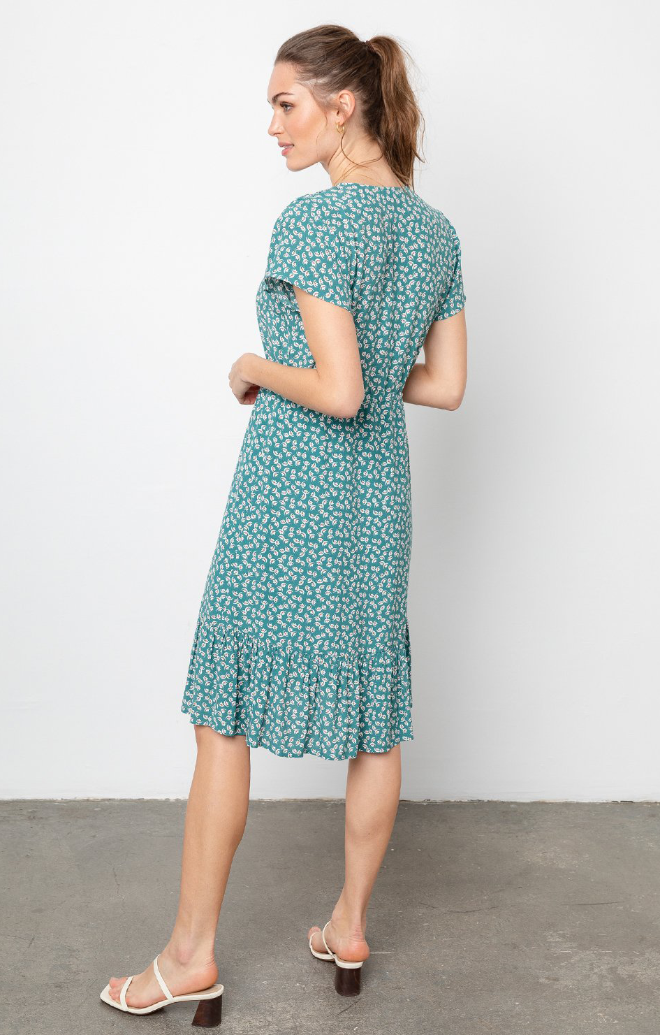 Kiki Dress Lotus - Rails Clothing