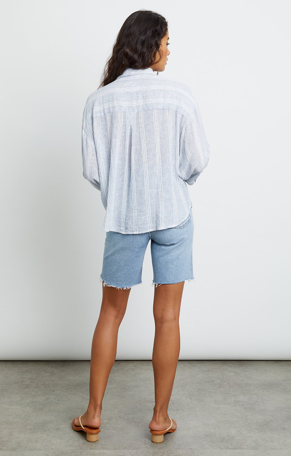 Marloes Button Down - Alameda Stripe