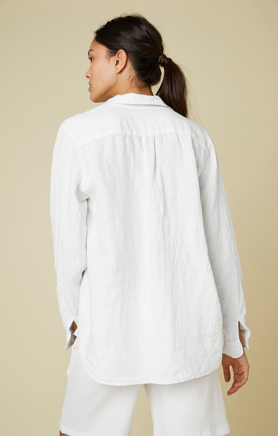 Mulholland Shirt - White
