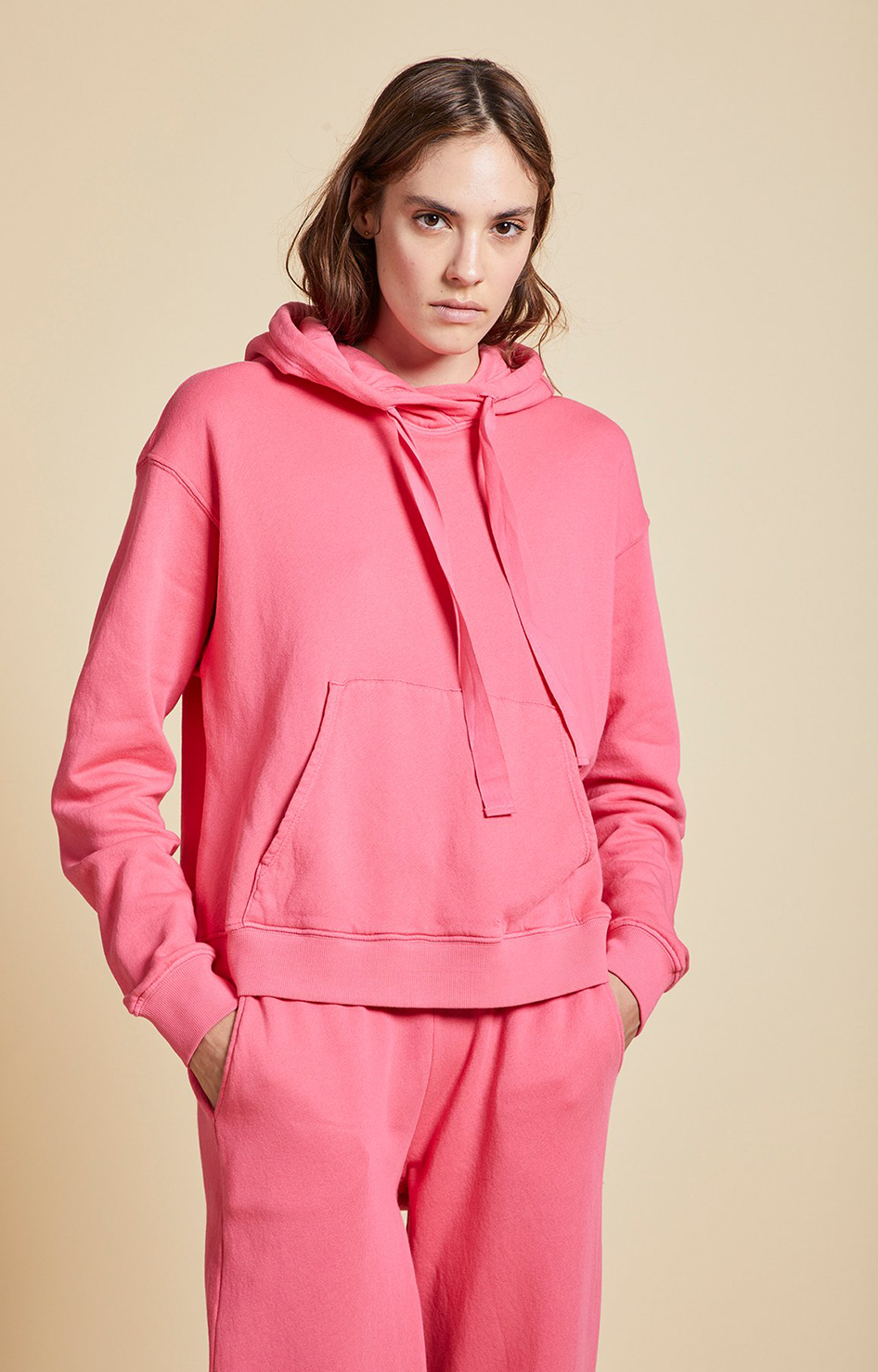 Velvet By Graham & Spencer Ojai Hoodie Candy