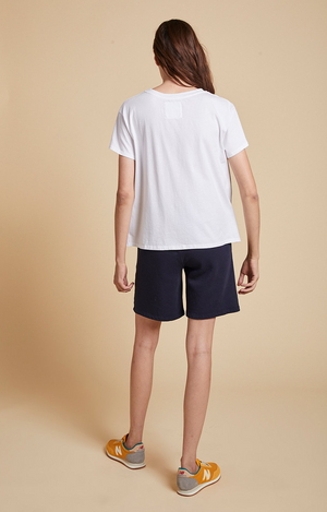 Velvet By Graham & Spencer Laguna Fleece Short Navy