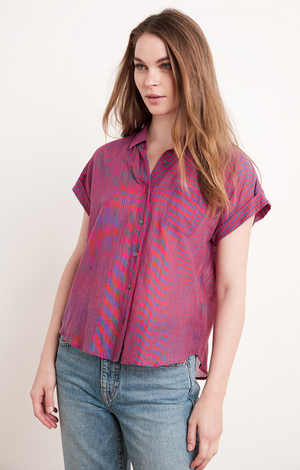 Aleta Button Down