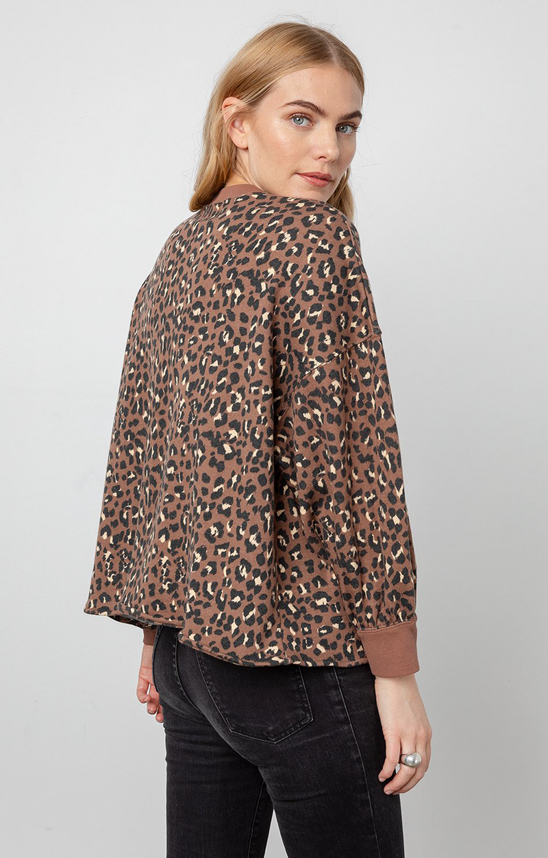Reeves Sweatshirt - Mountain Leopard