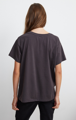 Treva V-Neck Top In Exhaust