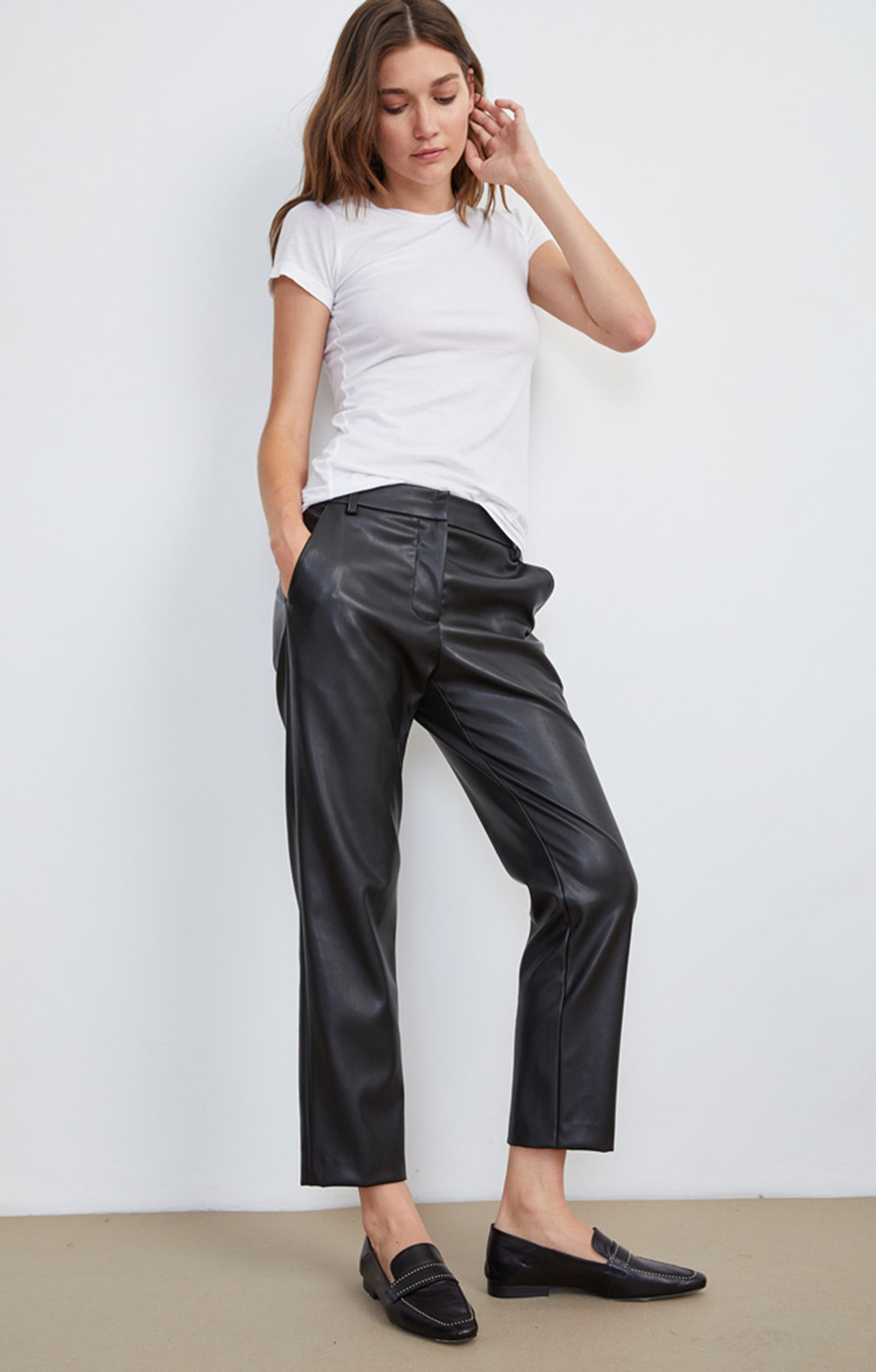 Hydie Vegan Leather Pants