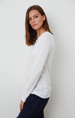 Lizzie - L/S Top - White