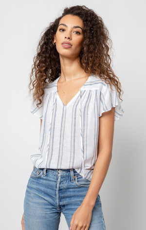 Viera Top in Ryland Stripe
