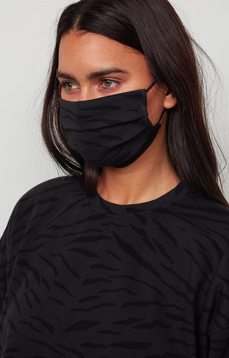 Viena - Zebra Fleece Mask - Exhaust