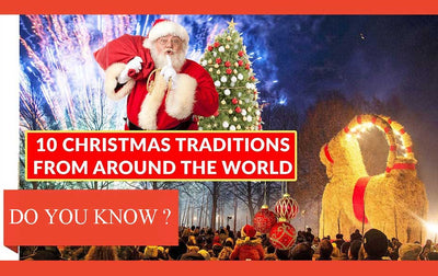 Strange Christmas Traditions around the World