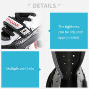 Speed Inline Skates Adult Big Wheel Carbon Fiber Single Row Roller Skates