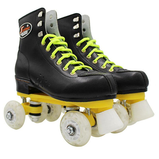 Adult Narrow Wheel Professional Flash Roller Skates
