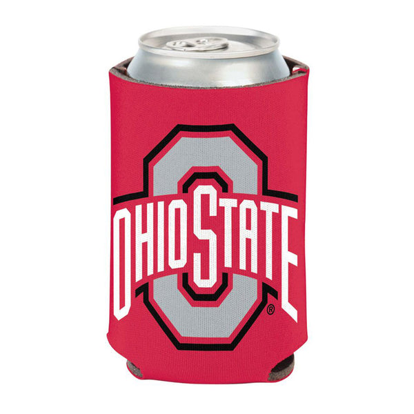 Ohio State Buckeyes Primary Collapsible Can Cooler