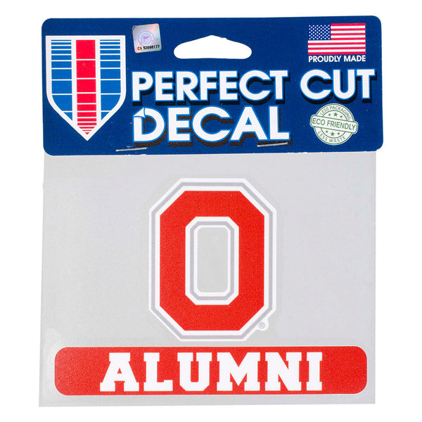 "Ohio State Alumni 4"" x 5"" Decal"