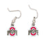 Ohio State Buckeyes Dangle Earrings