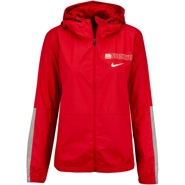 Ladies Ohio State Woven Anorak Jacket