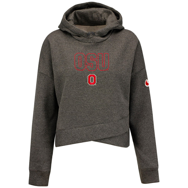 Ladies Ohio State Nike Local Hoodie