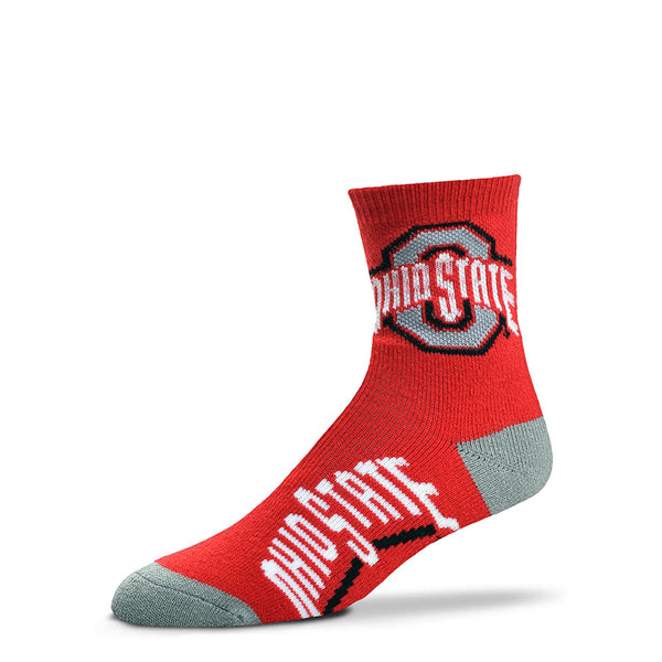 Ohio State Quarter Sock
