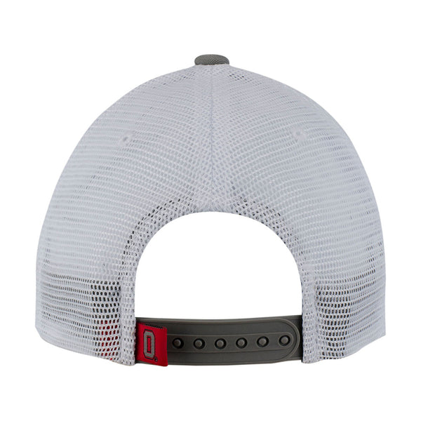 Ohio State Buckeyes Mesh Structured Adjustable Hat