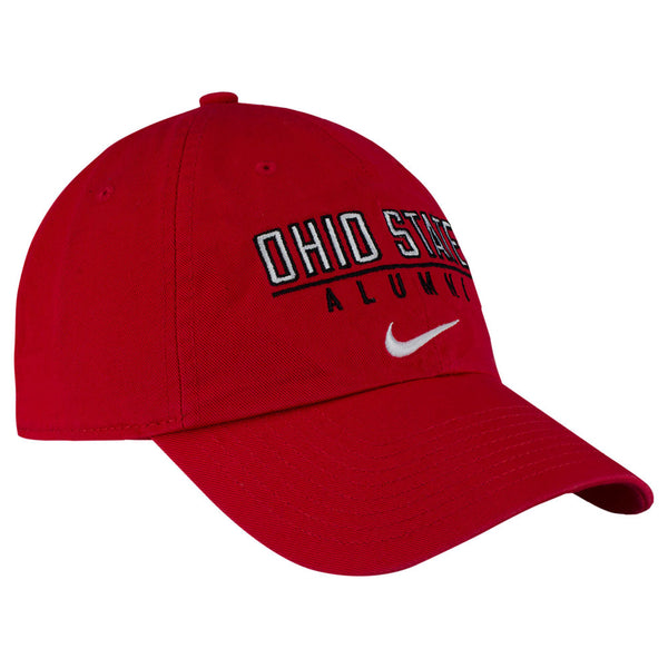 Ohio State Buckeyes Nike Campus Alumni Unstructured Adjustable Hat