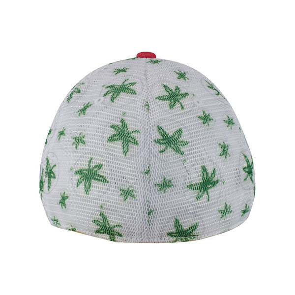 Ohio State Buckeyes Leaf Mesh Flex Hat