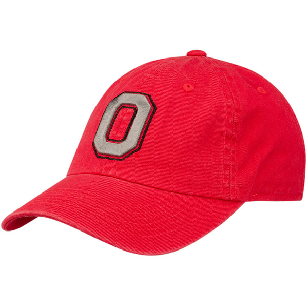 "Ohio State Block ""O"" Unstructured Adjustable Hat"