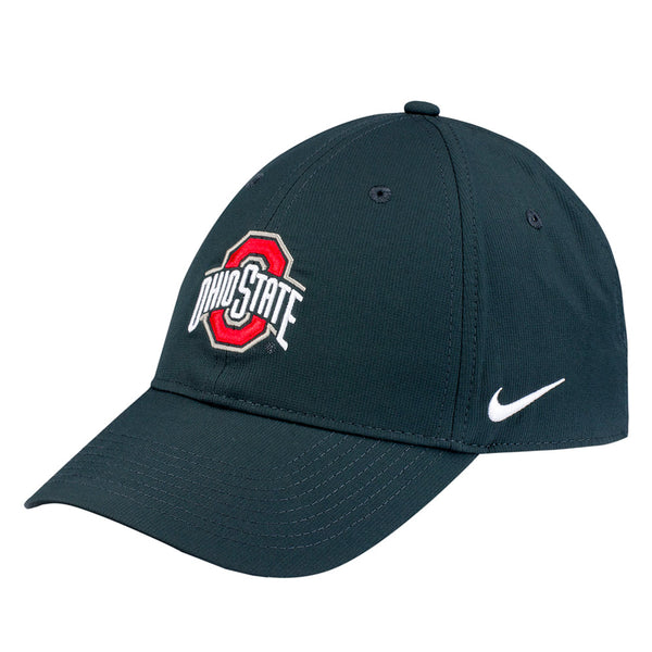 Ohio State Buckeyes Nike Dri-FIT Structured Adjustable Hat