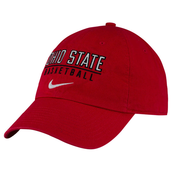 Ohio State Buckeyes Nike Campus Basketball Unstructured Adjustable Hat