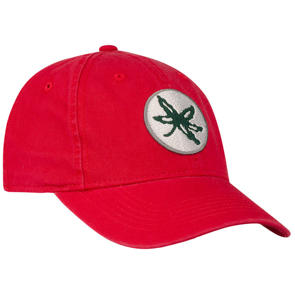 Ohio State Buckeyes Leaf Letterman Flex Hat