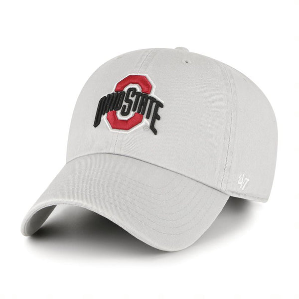 Ohio State Buckeyes Primary Clean Up Unstructured Adjustable Hat