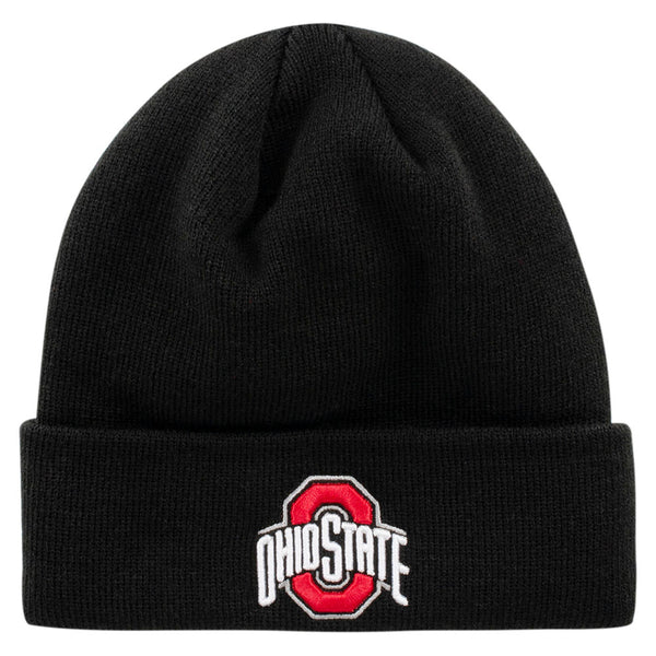 Ohio State Buckeyes Pitch Cuffed Knit Hat