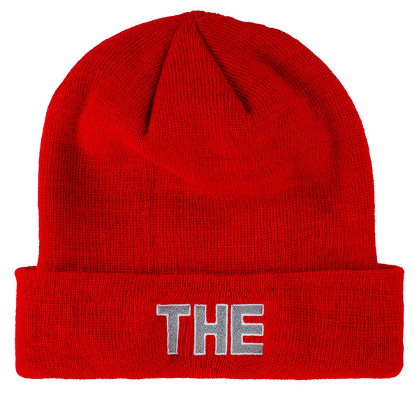 Ohio State Buckeyes Leaf Cuffed Knit Hat