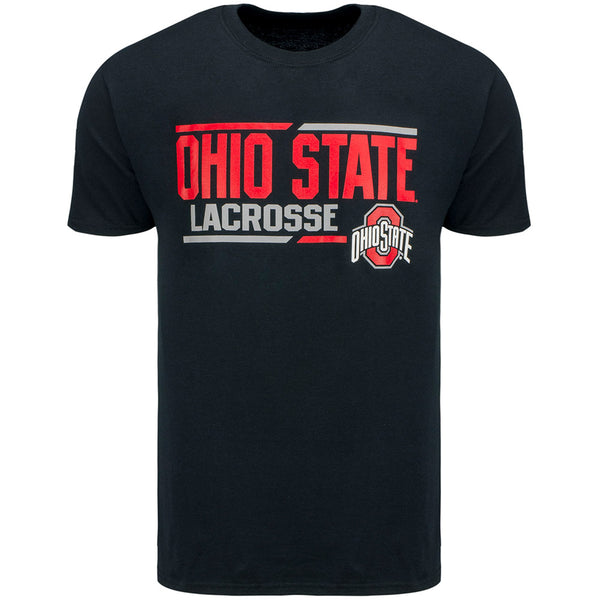 Ohio State Lacrosse T-Shirt Black