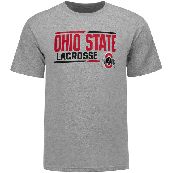 Ohio State Lacrosse T-Shirt Gray