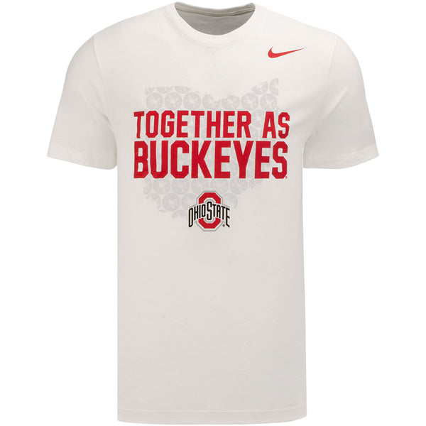 Ohio State Nike Together As Buckeyes Fan T-Shirt