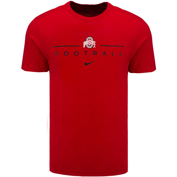 Ohio State Buckeyes Football Nike Dri-FIT T-Shirt