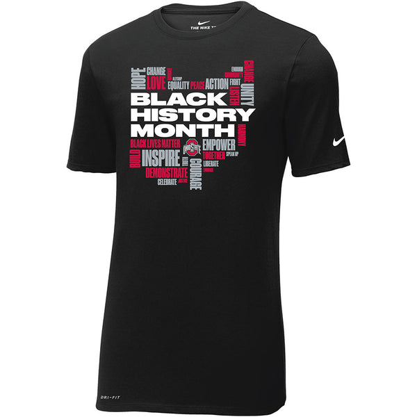 Ohio State Black History Month T-Shirt