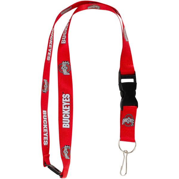 Ohio State Buckeyes Red Lanyard
