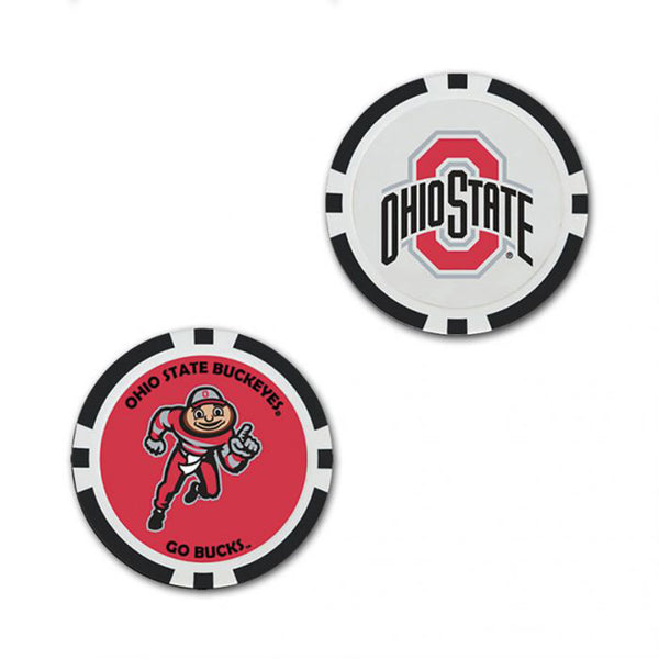 Ohio State Golf Ball Marker