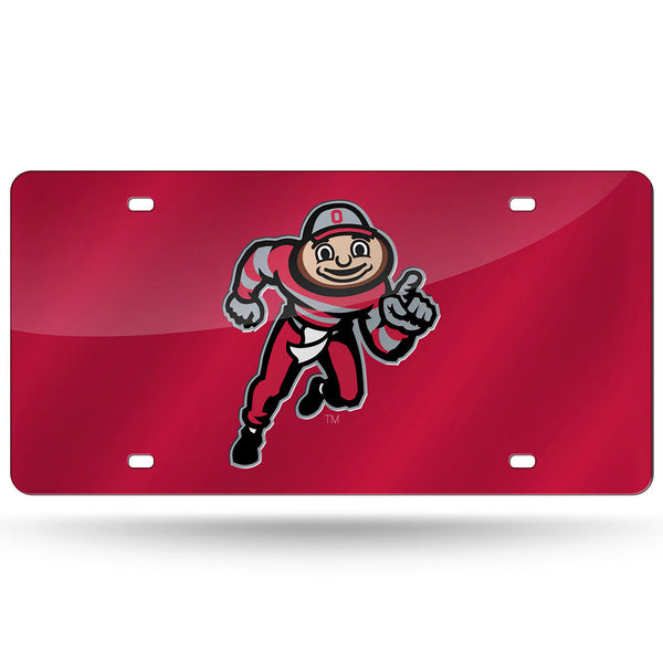 Ohio State Buckeyes Laser Cut Brutus License Plate