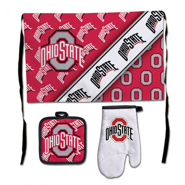 Ohio State Barbeque Tailgate Set