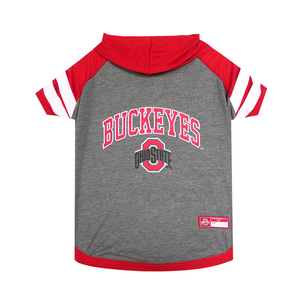 Ohio State Hooded Pet T-Shirt
